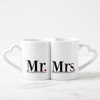 Mr & Mrs Mug Gift Set