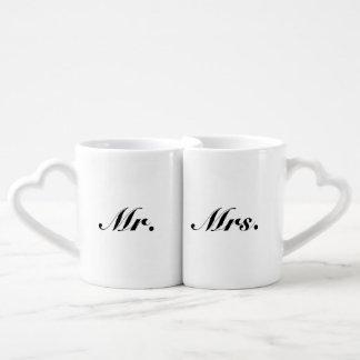 Mr./Mrs. Nesting Mug Set Lovers Mug Set