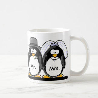 Mr & Mrs Penguin Coffee Mug