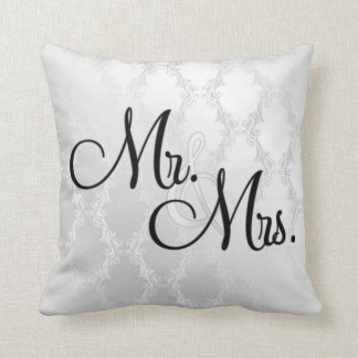 MR & MRS PILLOW GREAT GIFT