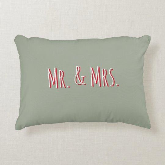 Mr. & Mrs. Rectangle Pillow