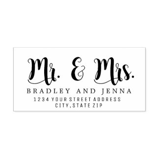 Mr. & Mrs. Rubber Stamp
