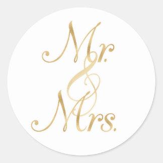 Mr. & Mrs. Stickers
