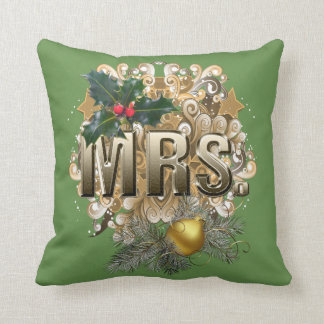 Mr & Mrs Throw Pillow