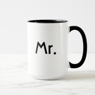 Mr mug - half of couples mug set