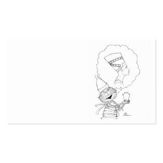 Mr Mummific in Love Business Card