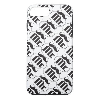 Mr. Mustache Retro Vintage Hipster Gifts iPhone 7 Plus Case
