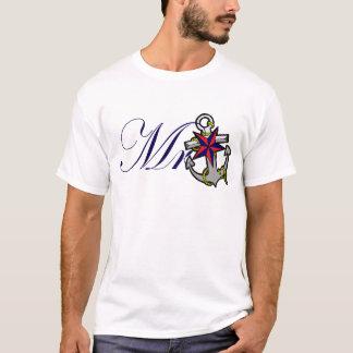 Mr Navy Anchor T-Shirt
