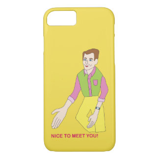 Mr. Nice To Meet You Phone Case