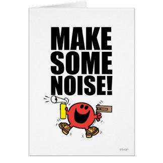 Mr. Noisy | Make Some Noise Card