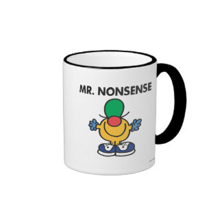 Mr. Nonsense | Funny Outfit Ringer Coffee Mug