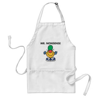 Mr. Nonsense | Funny Outfit Standard Apron