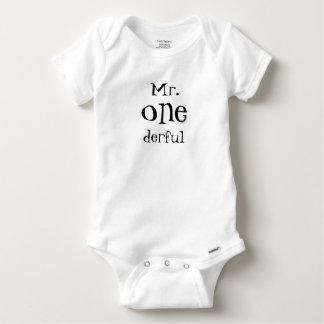 Mr One-derful Onsie Baby Onesie