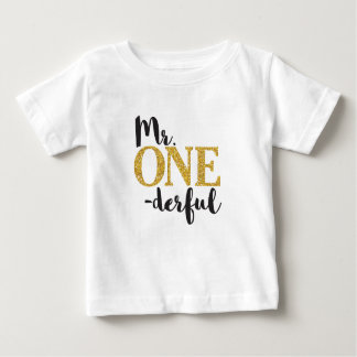 Mr. ONEderful Baby Fine Jersey T-Shirt