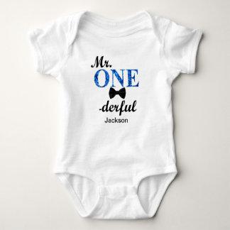 Mr. ONEderful Baby Jersey Bodysuit