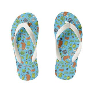 Mr. Orlando - Pattern Kid's Flip Flops
