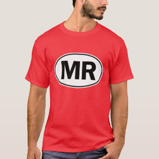 MR Oval Identity Sign T-Shirt
