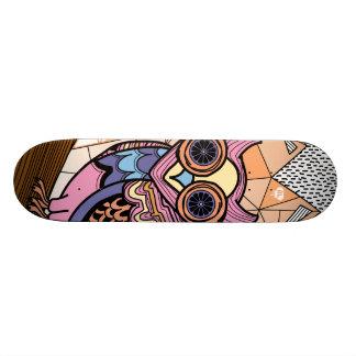 Mr. Owl deck Custom Skateboard