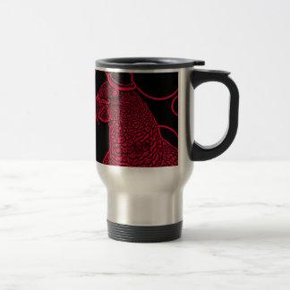Mr parrot travel mug