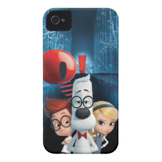 Mr. Peabody & Sherman in the Wabac Room iPhone 4 Case