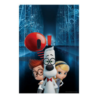 Mr. Peabody & Sherman in the Wabac Room Poster