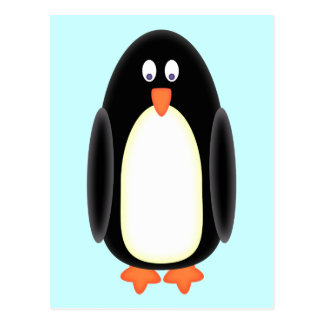 Mr Penguin Postcard
