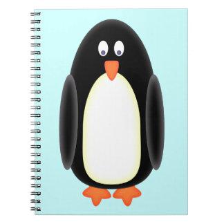 Mr Penguin Spiral Notebook