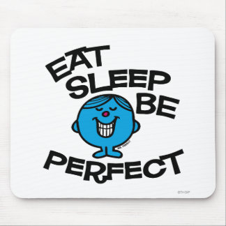 Mr. Perfect's Plan For Life Mouse Pad