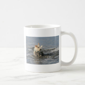 Mr. Pish at Ruby Beach Coffee Mug