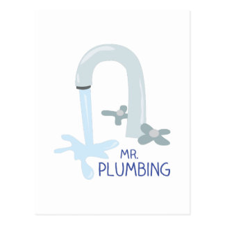 Mr Plumbing Postcards