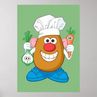 Mr. Potato Head - Chef Poster