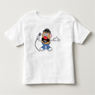 Mr. Potato Head Holding Microphone Toddler T-shirt