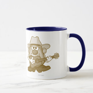 Mr. Potato Head Playing Guitar Mug