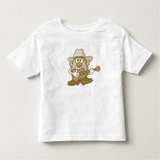 Mr. Potato Head Playing Guitar Toddler T-shirt