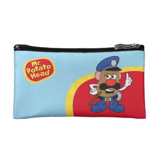 Mr. Potato Head Policeman Cosmetic Bags