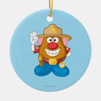 Mr. Potato Head - Sheriff Ceramic Ornament