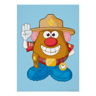Mr. Potato Head - Sheriff Poster