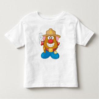Mr. Potato Head - Sheriff Toddler T-shirt