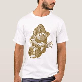 Mr. Potato Head with Fire Hose T-Shirt