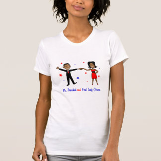 Mr. President and First Lady Obama T-Shirt