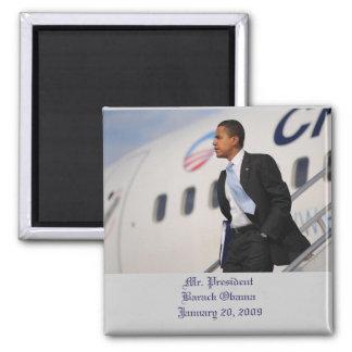 Mr. President Barack Obama January 20, 2009 Magnet