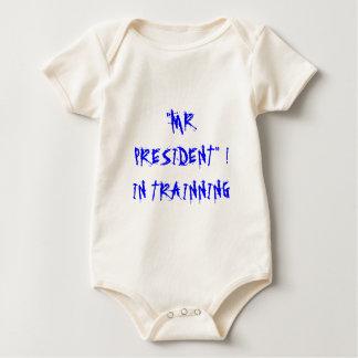 """""""MR. PRESIDENT"""" !IN TRAINNING BABY BODYSUIT"""