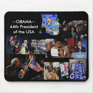MR PRESIDENT MOUSE PAD