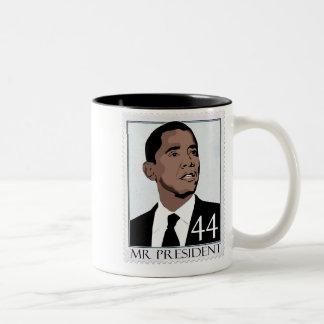 mr president Two-Tone coffee mug