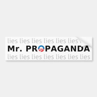Mr. Propaganda Bumper Sticker