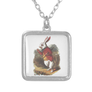 Mr Rabbit! Silver Plated Necklace