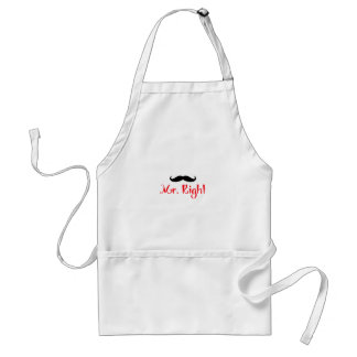MR RIGHT APRONS