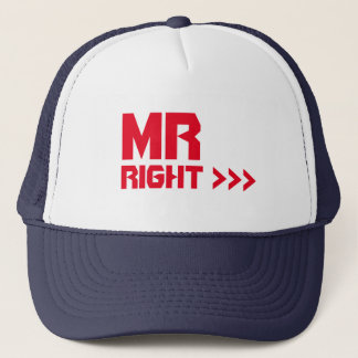 Mr Right Arrows Self-Esteem Summer Party Cap