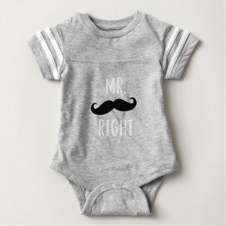 Mr Right Baby Bodysuit