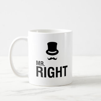 Mr. Right Coffee Mug
